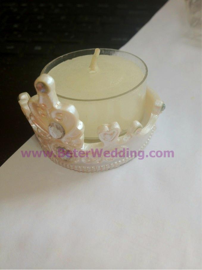 Tea Light Crowns 48pcs Wedding Tea Light