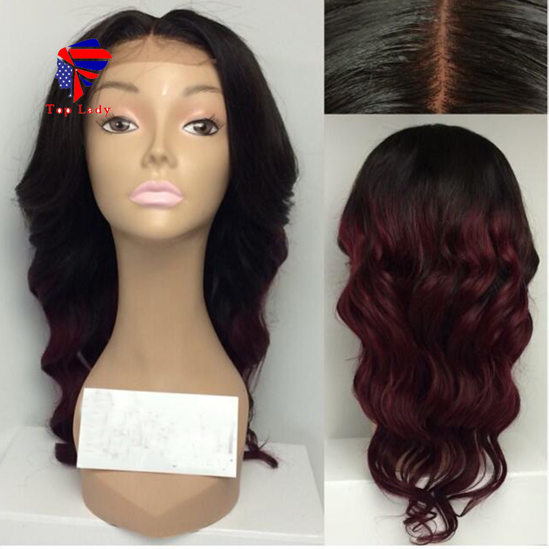 7a glueless ombre lace front wigs with baby hair full lace