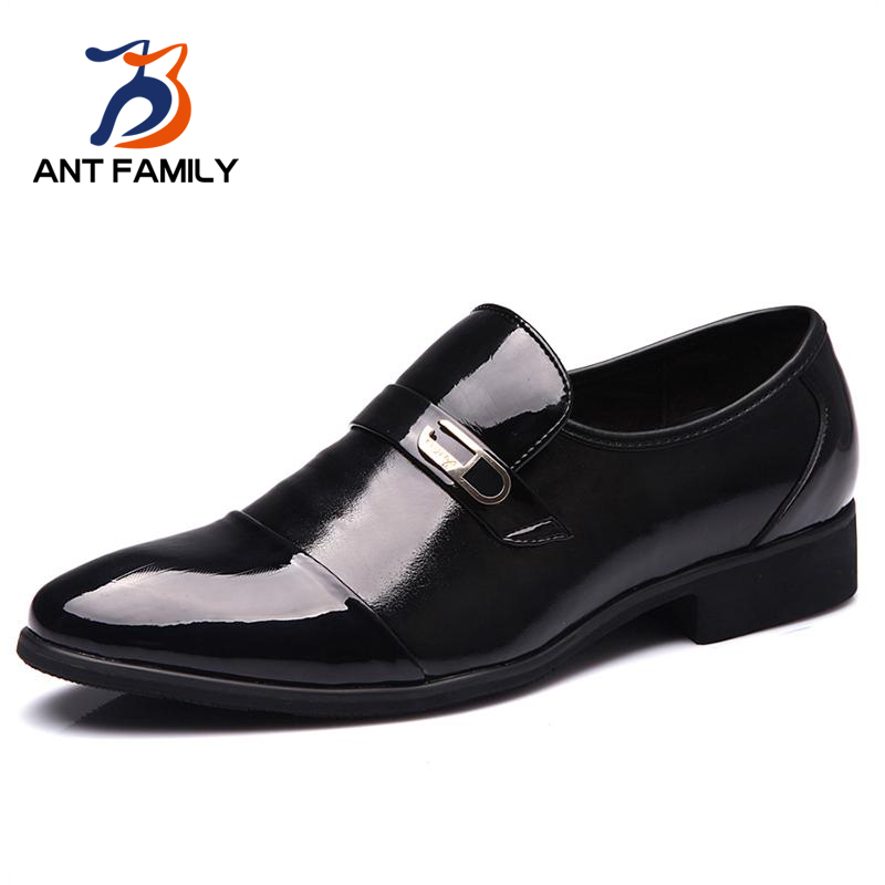 Hot Sale 2016 Hot Sale Men PU Brand Leather Shoes Male Fashion Autumn Breathable Rubber British Style Business Men Shoes Zapatos от Aliexpress INT