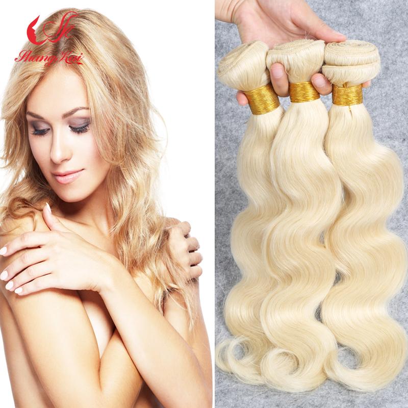 Blonde Peruvian Hair 4Pcs Lot Peruvian Virgin Hair Body Wave 12-30 Color 613 Platinum Blonde Virgin Hair Weaving<br><br>Aliexpress