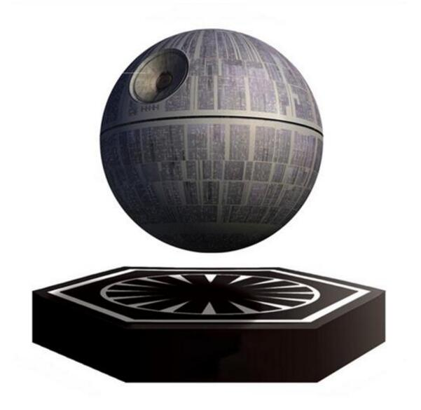20pcs/lot Bluetooth Speaker Wars Death Star Levitating Speaker Bluetooth Wireless Portable Floating Portable Magnetic Levitation(China (Mainland))