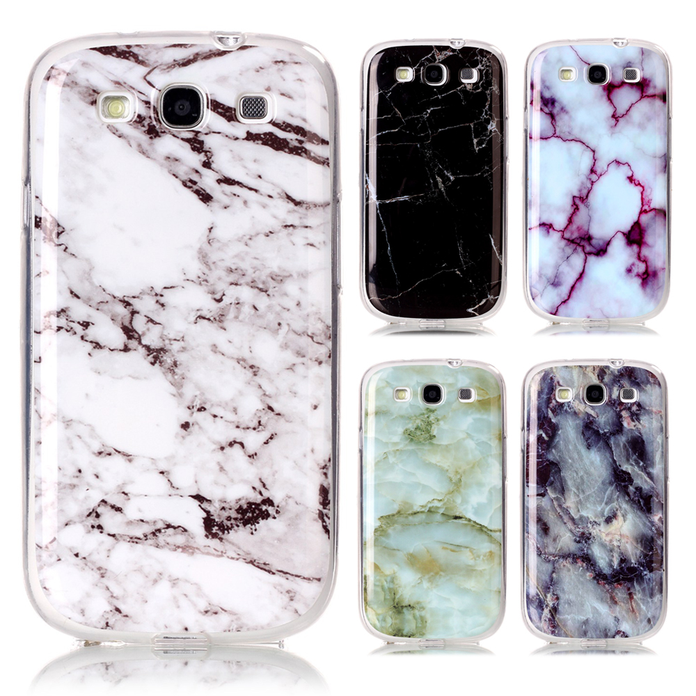 Samsung Galaxy S3 Case Silicone Marble TPU Back Cover Samsung Galaxy S3 Neo Case Samsung S3 i9300 Duos Phone Cases Coque