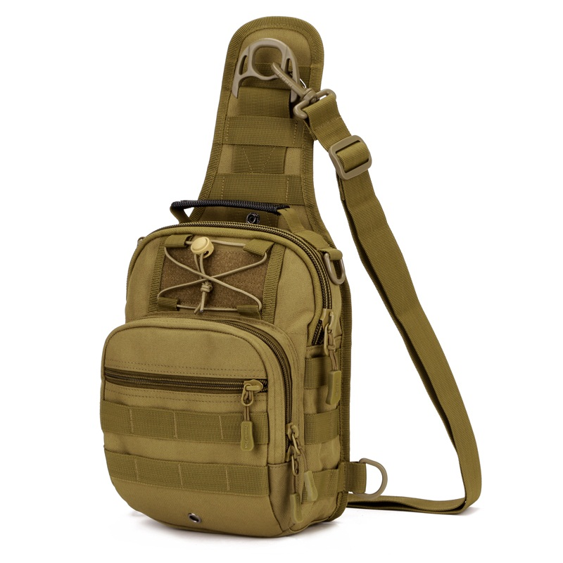 High Quality Tactical Military Chest Bag Crossbody Shoulder Bag Camping Equipment Nylon Waterproof Messenger Bags 4 in 1 B(China (Mainland))