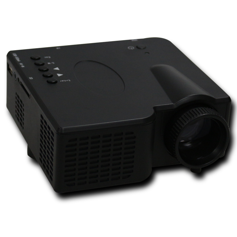 """2016 Free shipping LED Projector Mini LED Projector Portable Proyector support HDMI VGA AV USB SD Speaker 18''-60"""" Display"""
