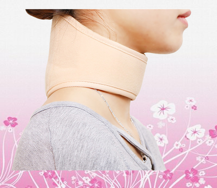 Back Belt Hot sale Neck Warmer Physical therapy to protect Neck pain Cervical vertebra pain and muscle strain with Heat Pack(China (Mainland))