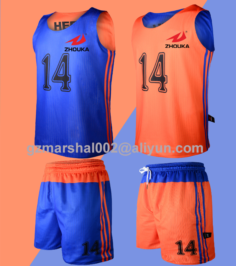 2016 New Arrival Sublimated Reversible basketball jersey custom logo color and number free shipping(China (Mainland))