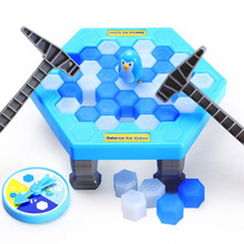 Buy 2017 Original Box Ice Breaking Save Penguin Family Fun Game One Make Penguin Fall, Will Lose Game for $10.77 in AliExpress store