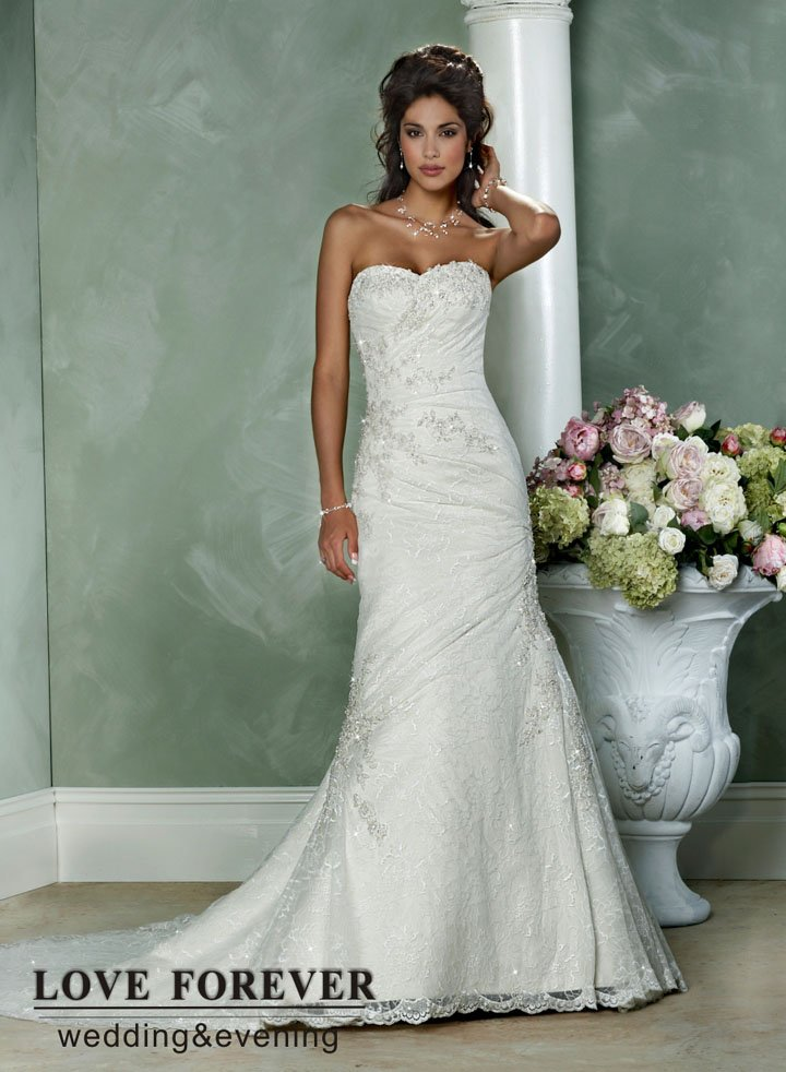 The gallery for country style lace wedding dress for Country style lace wedding dress