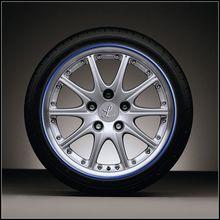 Car Wheel Hub Tire Sticker Car Decor Styling Strip Wheel Rim Tire Protection Car Covers Auto Accessories Hot Sale 8M/Roll(China (Mainland))