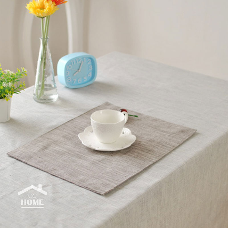 be Home High quality Japan Style Linen tablecloth table cover table cloth for home and coffee shop(China (Mainland))