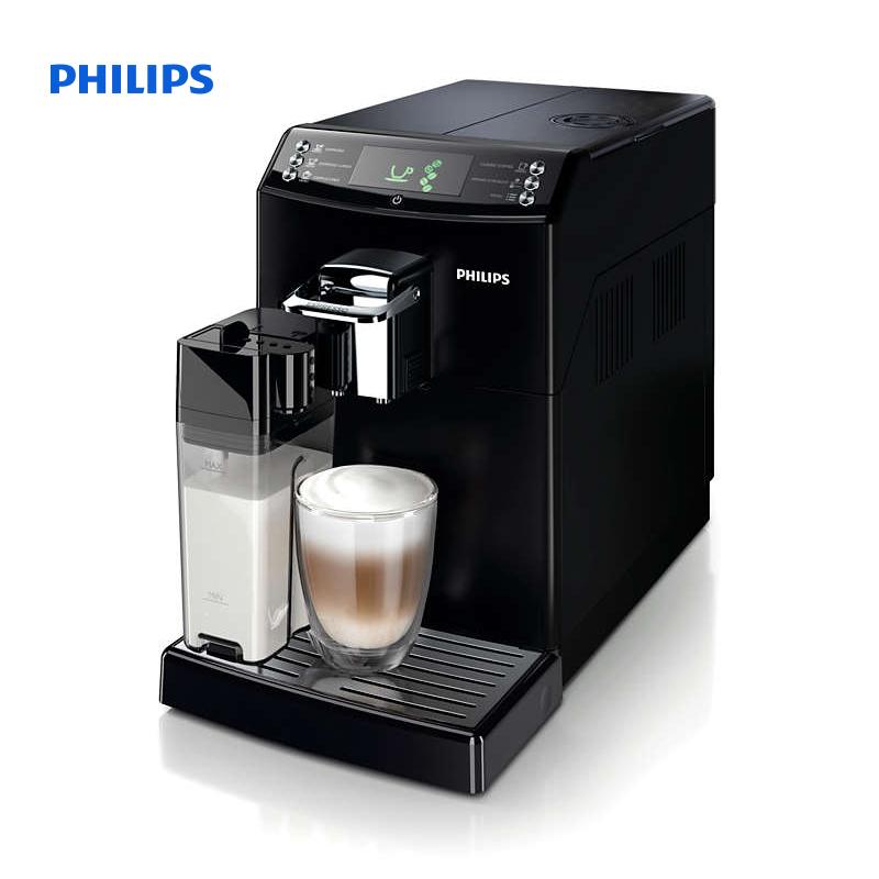 Philips 4000 series Super automatic espresso machine Brews 7 coffee varieties Integrated milk ...