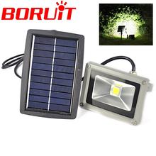 Ultra Bright 10W Solar Power LED Flood Night Light  LED Flood Lamp Outdoor Waterproof  Garden Spotlights(China (Mainland))