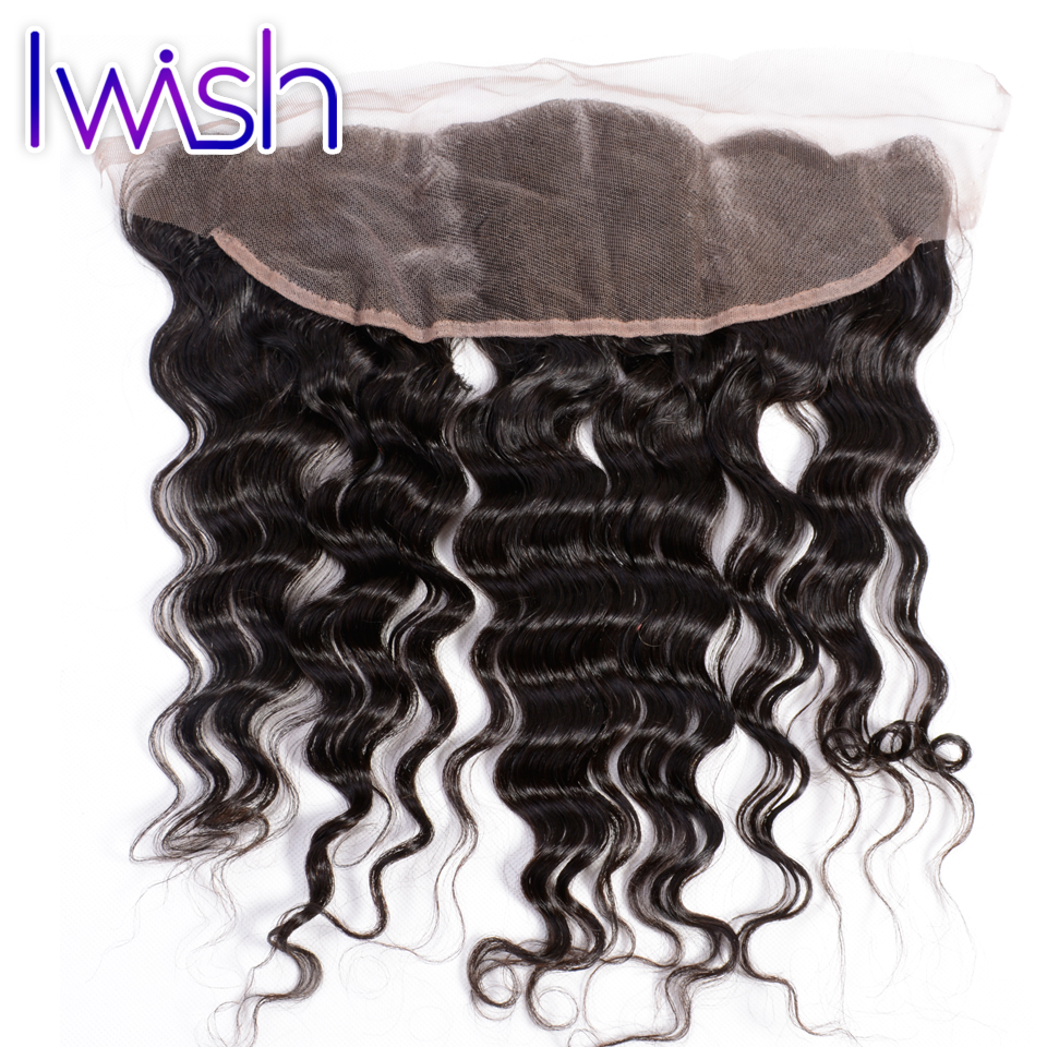 1Piece Ear to Ear Lace Frontal Closure Brazilian Virgin Hair Brazilian Water Wave Human Hair Mink Brazilian Hair Weave Bundles<br><br>Aliexpress