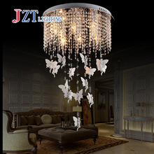 Buy T Modern Lustre Crystal Chandeliers European Style LED light Angel pendant Creative light sitting room dining-room for $159.58 in AliExpress store