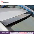 high quality carbon fiber roof spoiler for bmw 2005 2011 3 series e90 4 door sedan
