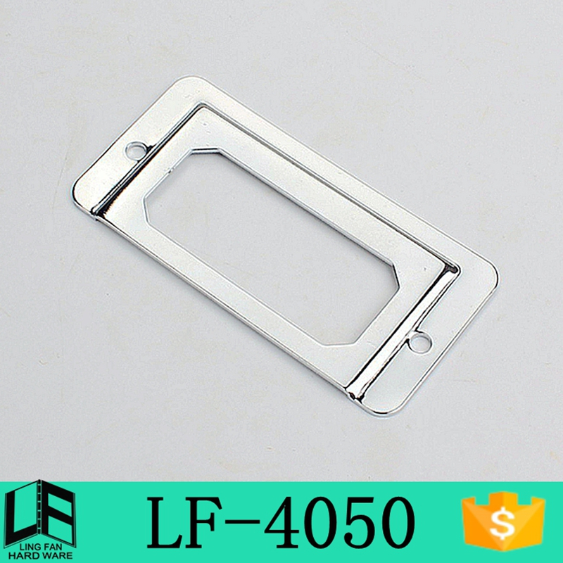 used furniture for sale chrome Label card slot , tag holder clip 2.5 inch LF-4050(China (Mainland))