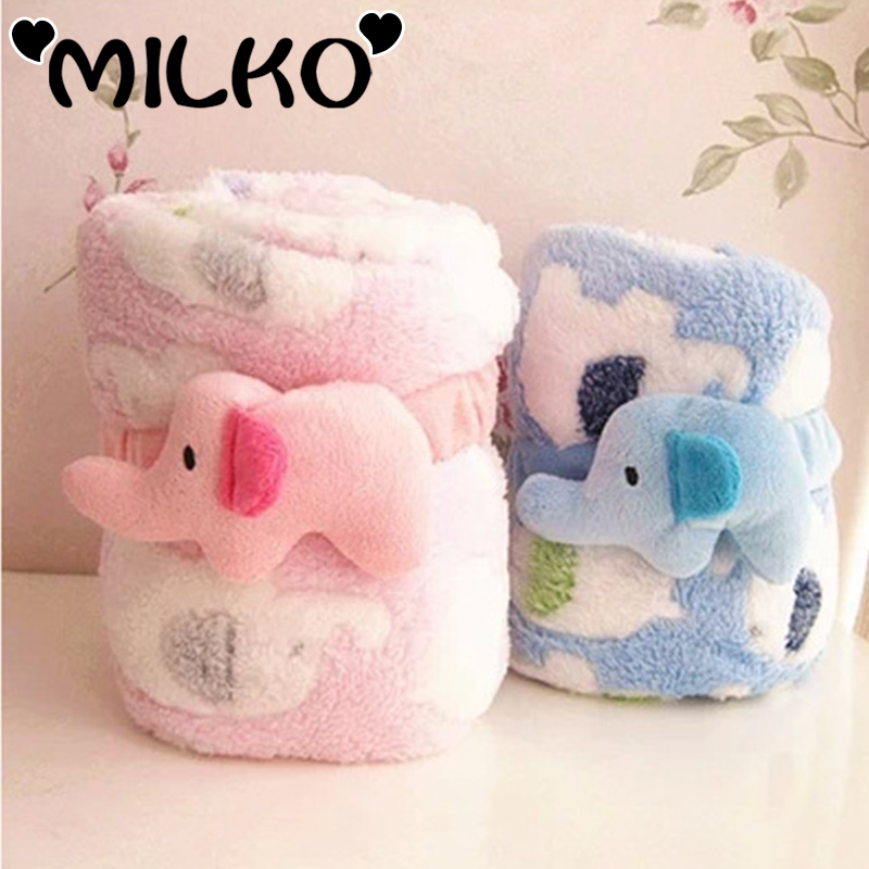 86*76cmCoral Fleece Children's Bed linen Baby Sleeping Cover Newborn Beeding Blanket Kid Stroller Blanket Casual Sleeping Supply(China (Mainland))
