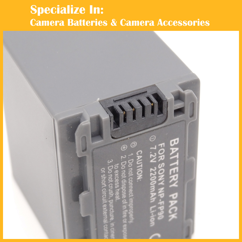 NP-FP90 Camcorder Battery for Sony DCR series Battery np fp90(China (Mainland))