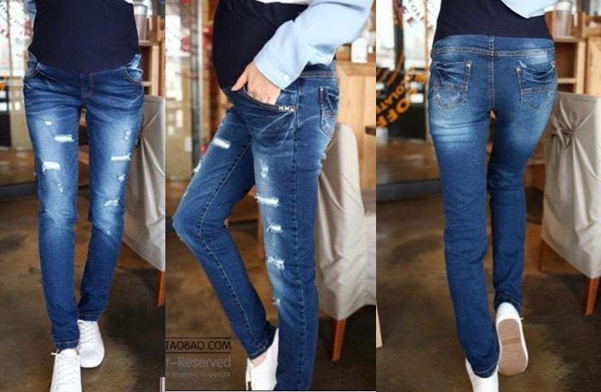 Как из обычных джинс сделать джинсы для беременных фото 982