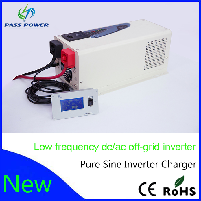 solar home system inverter 2000w low frequency inverter charger pure sine wave(China (Mainland))