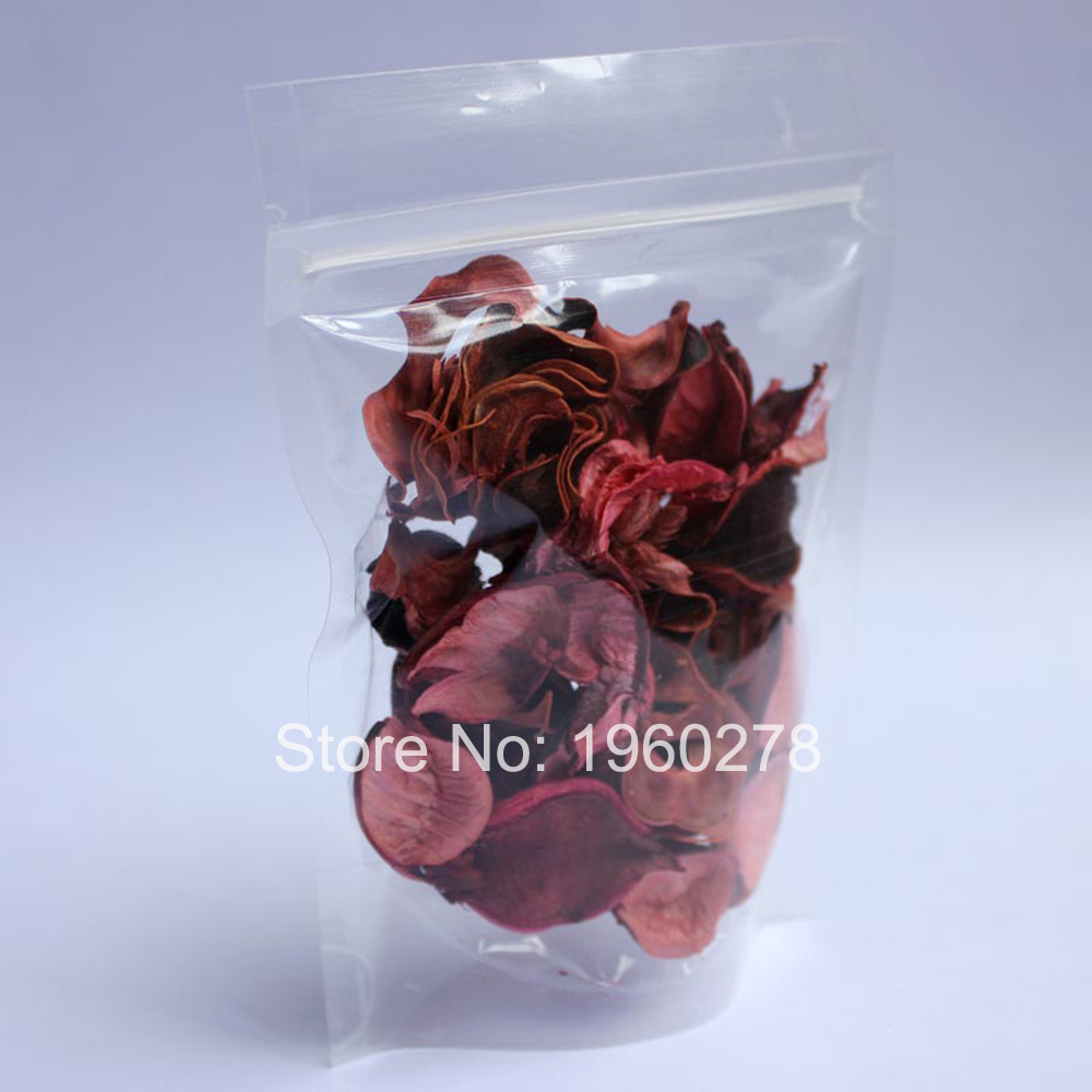 """Wholesale 16x24cm (6.3x9.4"""") 3MIL thick transparent PE bags Clear Resealable Plastic stand up ziplock pouch 100pcs(China (Mainland))"""