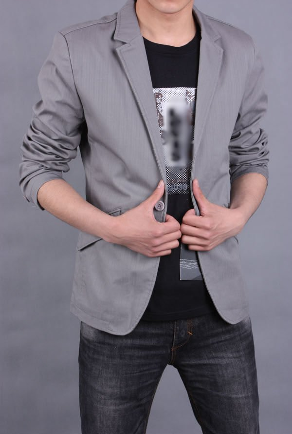 Men Fashion Jacket Casual Men s fashion Blazer Leisure