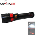 Laser Flashlight 5W High Power Cree Q5 3 modes led flashlight lamp lanterna beam light red