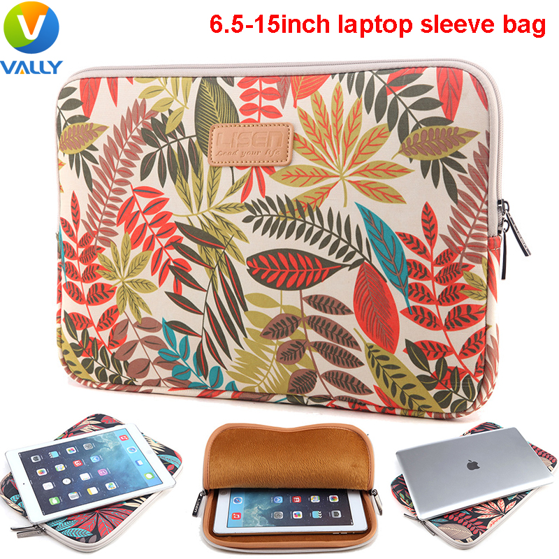6.5/7/8.3/9.8/10/11.6/12/13/14/15 inch Laptop Sleeve Notebook Bag For iPad Mini / iPad Air / Macbook Pro Air / For Macbook Pro(China (Mainland))