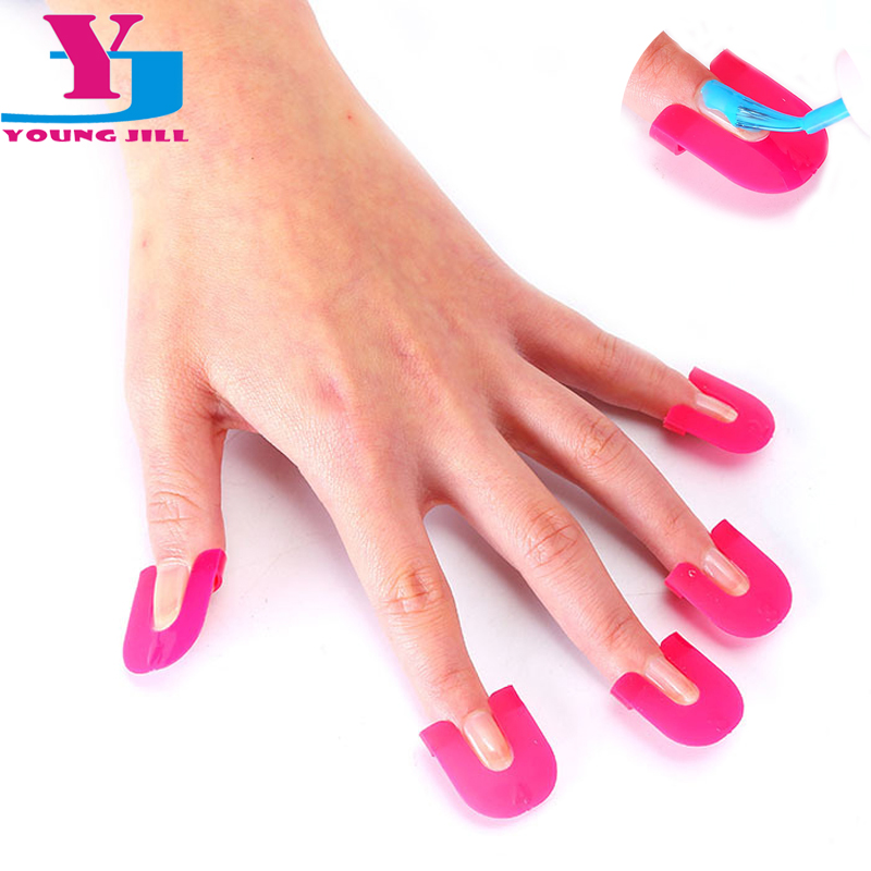 New Arrive Nail Polish Shield Protector Molds Spill Resistant Manicure Finger Cover Special Design