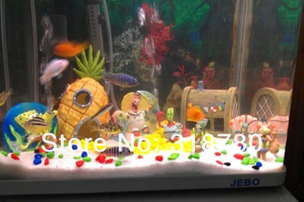 The gallery for unique fish tank ideas for Spongebob fish tank accessories