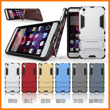 New Arrival Fashion Cool 2 In 1 PC+TPU Hard Stand Holder Cover Case For OPPO R9 Cover Cases Mobil Phone Accessories