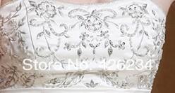 Жилетido де Noiva белый на свадьбу на заказ романтической принцессой тюль платья невесты аппликации свадебное платье длиной тюль кружева рукав