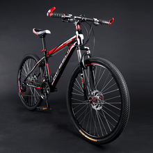 The barge mountain bike 26 inches Double disc brake for male and female students with 21/24/27 speed bike (China (Mainland))