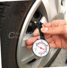 1pcs New Car Vehicle Motorcycle Dial Tire Gauge Meter Pressure Tyre Measurement Tool Free / Drop Shipping
