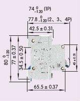 Автоматический выключатель dz47/60 10 1 P 10