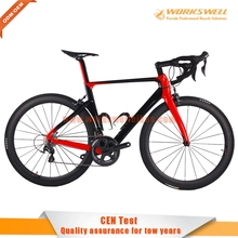 2016 Full Carbon Road Bike Complete Road Bike with 50mm assemble with 6800 11 Speed Groupset Free shipping(China (Mainland))
