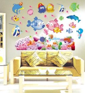Salle de bains carrelage autocollants promotion achetez - Carrelage mural auto adhesif ...