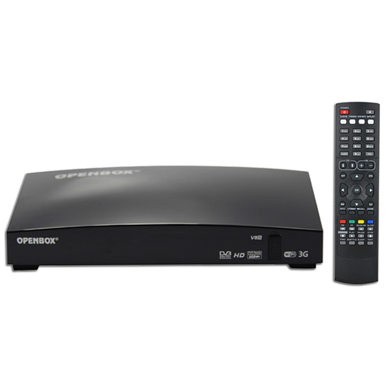 OPENBOX V8S Smart Digital HD Freesat PVR Satellite TV Receiver Box Dual CPU With 2*USB Slot WIFI 3G Youporn CCCAMD NEWCAMD(China (Mainland))