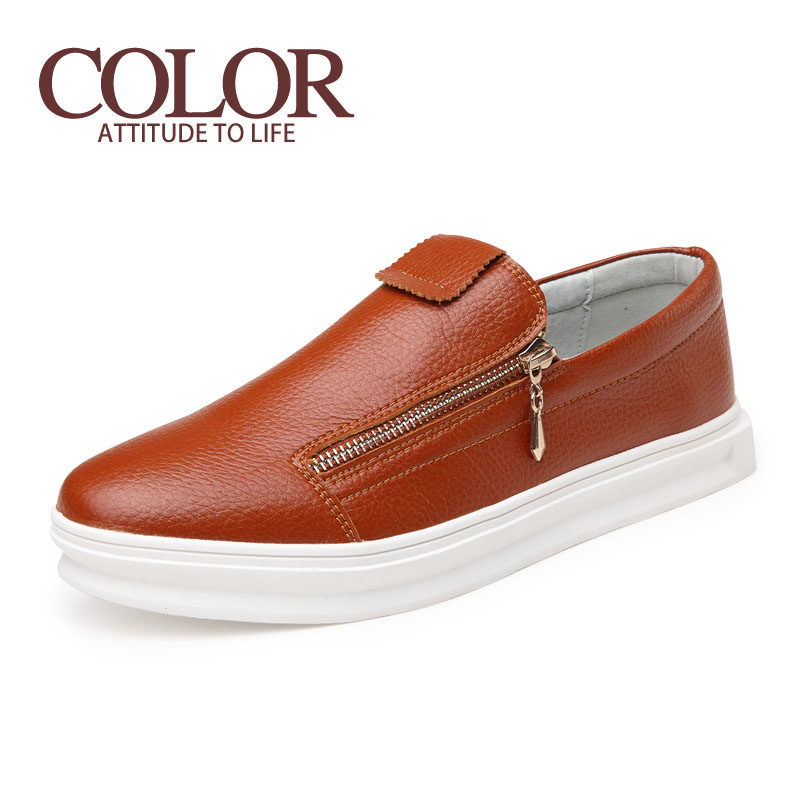 The New Spring And Summer 2016 Men'S Fashion Shoes Thick Crust Casual Shoes Carrefour Round Breathable Shoes Tide