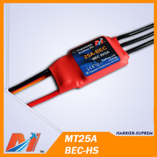 Maytech 25A 4S helicopter brushless ESC for Model Aircraft from china(China (Mainland))