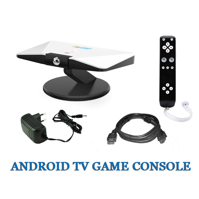 New Android TV Game Console Smart TV Action Game TV Camera Action Game Android Game Console Support HDMI(China (Mainland))