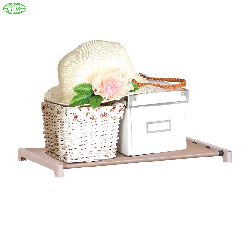 GDX 2pc In 1 Lot Non-Woven Shelves Bookcase DIY Furniture Easy Install Bookcase Foldable Shelf Storage Rack(China (Mainland))