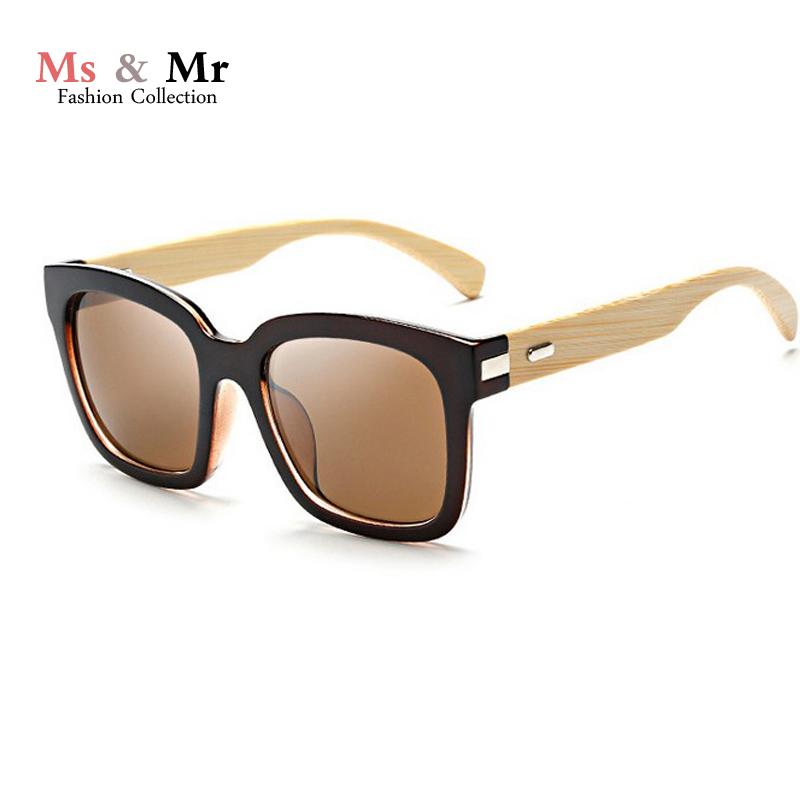 2016 new Wooden Sunglasses square Bamboo Sunglasses Brand Designer Mirror Original Wood Goggles feminino oculos de sol masculino(China (Mainland))