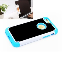 Hottest high polymeric adsorbent material shock proof 4.7inch anti gravity phone case with strong absorption case