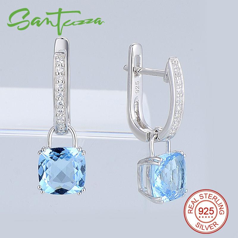 Silver Earrings E304362SBLGZ1SL925-SV8