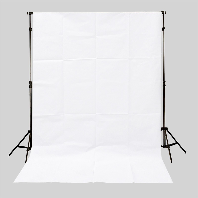 3x5ft professional Pure White Screen Photography Backdrop Studio Photo Props Photographic Background Cloth 0.9x1.5m light weight(China (Mainland))