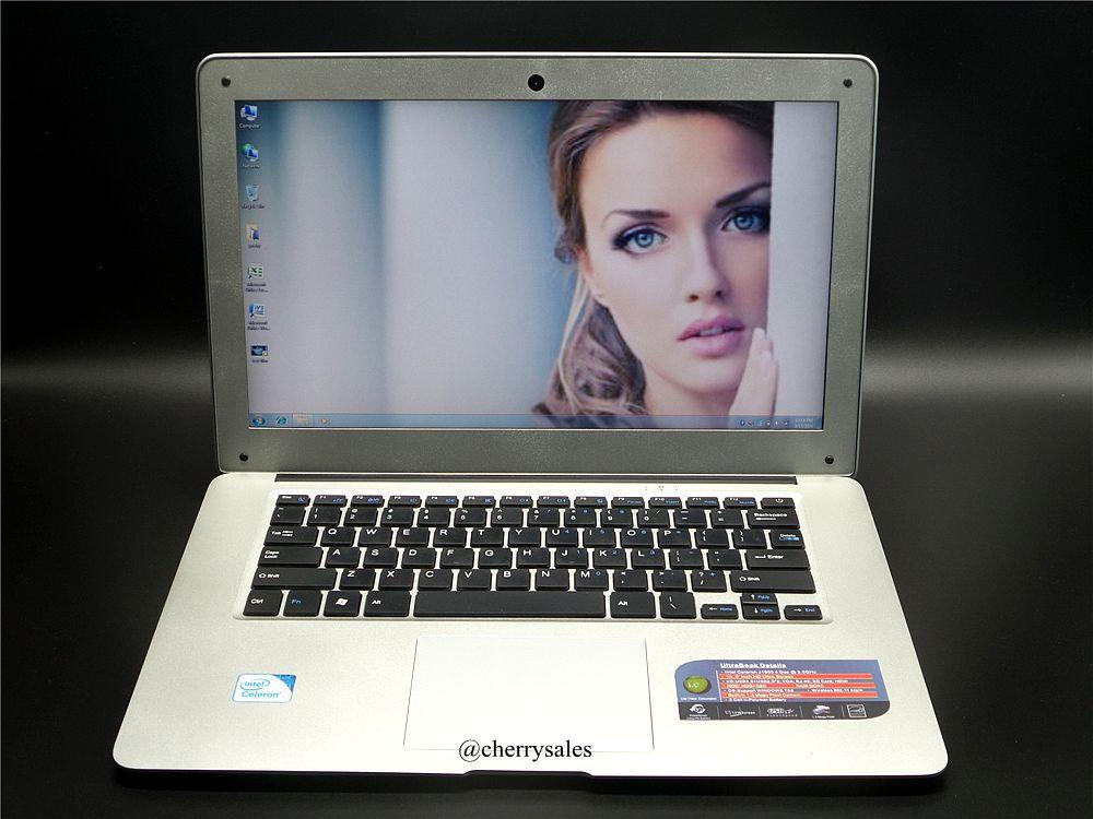 14 inch windows7/8 laptop Computer PC In-tel Celeron J1900 2.0GHZ Quad Core 8GB DDR3 1TB WIFI MINI HDMI WEBCAM Slim Ultrabook(China (Mainland))