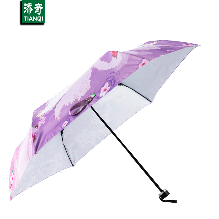Patio Umbrella Uv Protection: Hot Sale Manual Sunny Umbrella UV Protection UPF40/UV5% 3