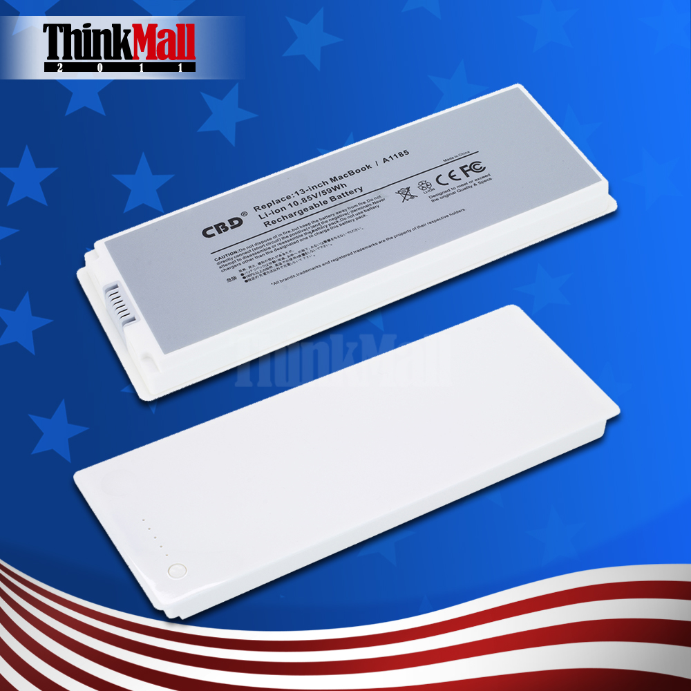 Brand New Replacement Battery for Apple MacBook 13inch A1181 A1185 MA566 MA561 MA254 MB402 White(China (Mainland))