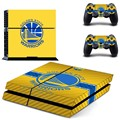 NHL Pittsburgh Penguins ice Hockey PS4 Skin Sticker Decal For Sony PS4 PlayStation 4 PS 4 Console and 2 Controllers Stickers